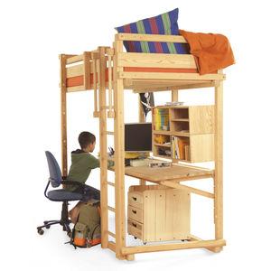 escritorio de madera maciza moderno ajustable en altura para nios