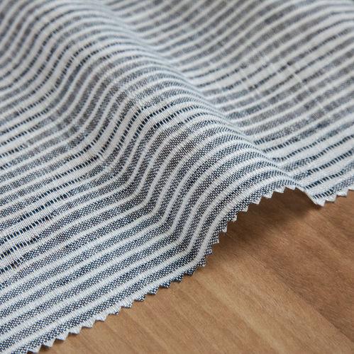 tela para cortinas / de rayas / de lino
