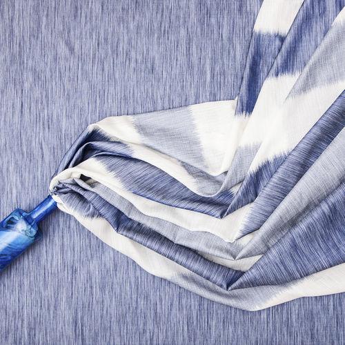 Tela para cortinas / de rayas / de poliéster ALSACIA : JEANS Equipo DRT
