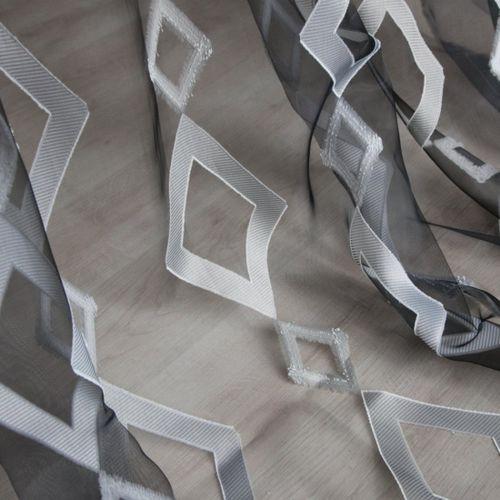 visillo con motivos geométricos / de Trevira CS®