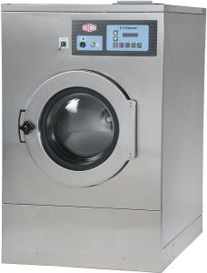 Lavadora-centrifugadora de carga frontal / para suelo / de ahorro energético / profesional MWR27X5 Milnor