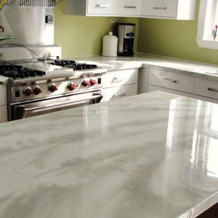 Encimera de hormigón / de mármol / para cocina - iCoat