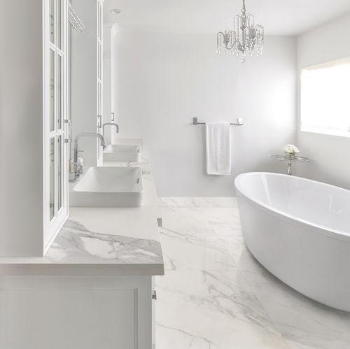 pavimento de material compuesto / residencial / aterciopelado / pulido