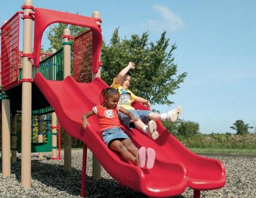 Tobogán recto / para parque infantil PLAYSHAPER® : 178720 LANDSCAPE STRUCTURES