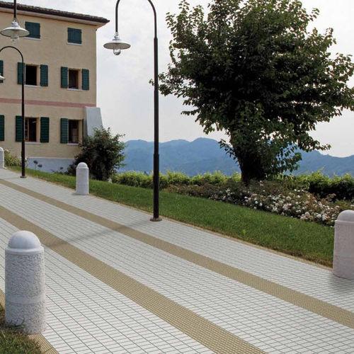 Mosaico de exterior / para suelo / de cerámica / mate OPEN SPACE : CALCITE Appiani