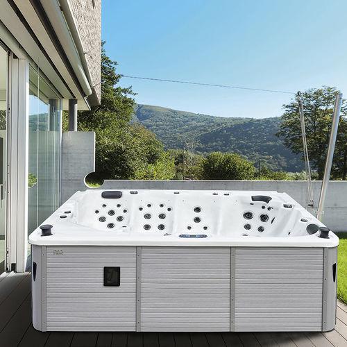Spa portátil / rectangular / 5 plazas / de exterior IBIZA by Marc Sadler GRUPPO TREESSE