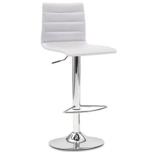 silla de bar moderna / ajustable / con reposapiés / con base central