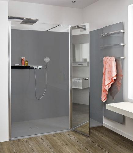 baño moderno / laminado / lacado