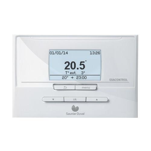 termostato programable / de ambiente / de pared / para calefacción