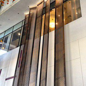 panel de ocultación panel / de aluminio