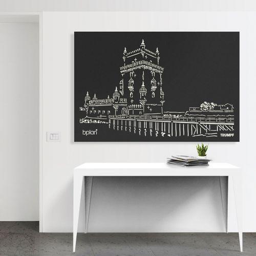 Panel decorativo de aluminio / de pared / ligero / de alta resistencia BPLAN