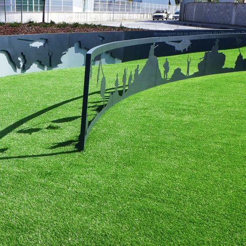 Panel decorativo de metal / para exteriores / de alta resistencia / mate BPLAN