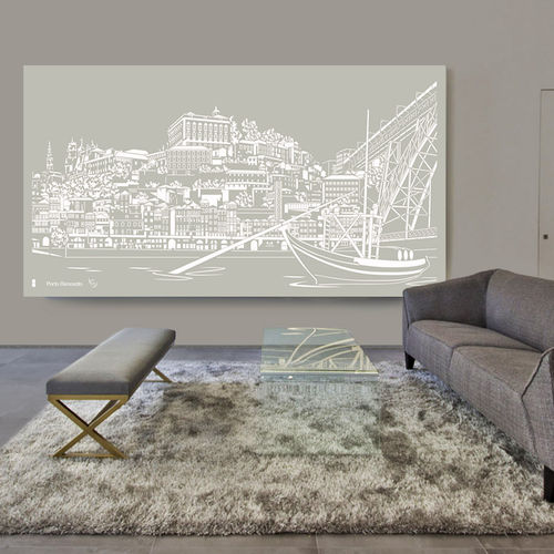 panel decorativo de aluminio / de pared / para interiores / para tabique