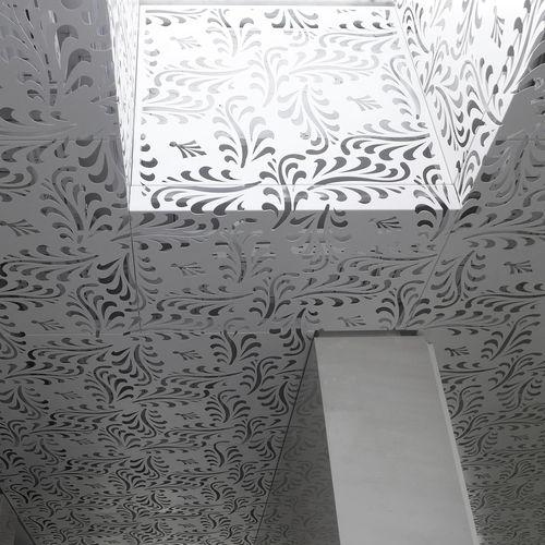 Panel decorativo de construcción / de aluminio / para falso techo / para techo BPLAN