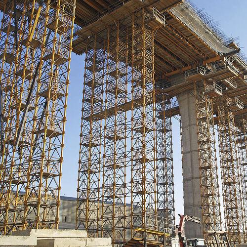 torre de apuntalamiento de acero