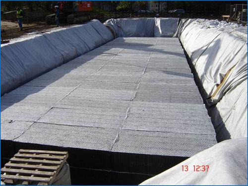 módulo de gestión de aguas pluviales para estanque