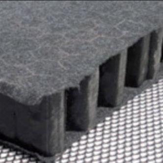 placa de retención de agua de lluvia para cubierta plana - NIDAPLAST