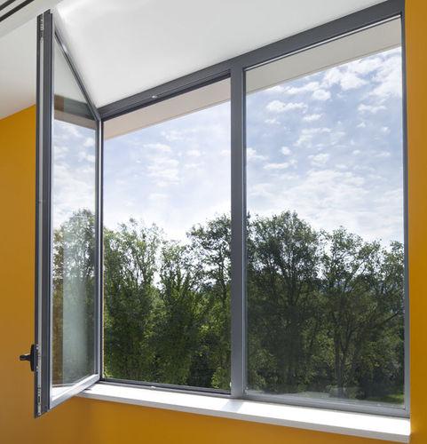 ventana de fuelle / oscilobatiente / abatible / de aluminio
