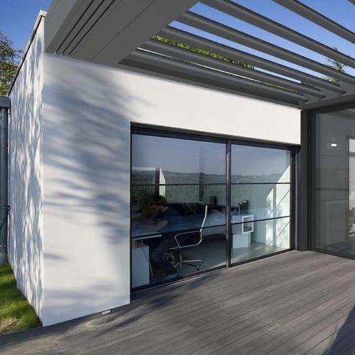 Cerramiento de terraza de vidrio EXTENS'K KAWNEER