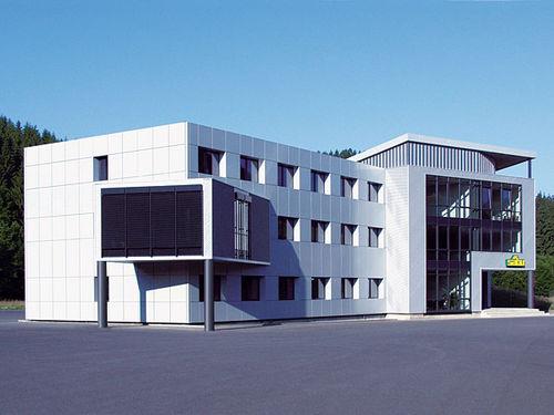 edificio prefabricado / modular / para oficina / de aluminio