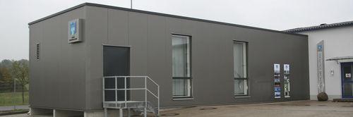 edificio modular / temporal / remolcable / profesional