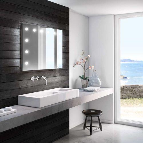 espejo para baño de pared - CANTONI