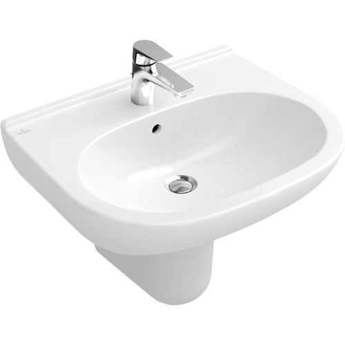 lavabo suspendido / de porcelana / moderno