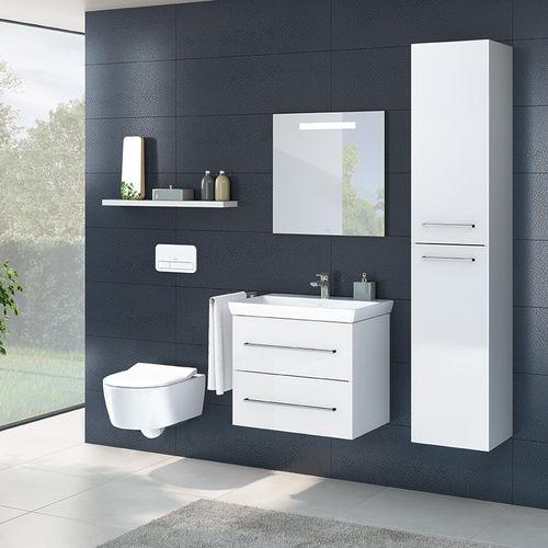 baño moderno / de cerámica / de vidrio