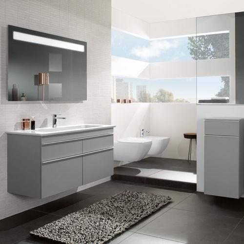 baño moderno / de cerámica