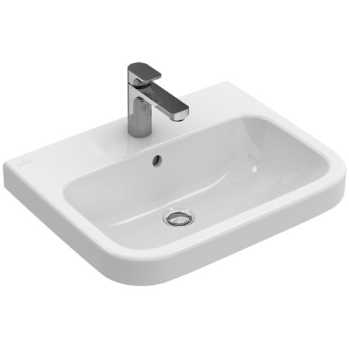 Lavabo suspendido / rectangular / de porcelana / moderno ARCHITECTURA: 418855 Villeroy & Boch