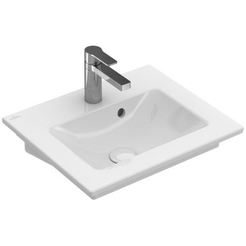 Lavabo suspendido / rectangular / de porcelana / moderno VENTICELLO:   412450 Villeroy & Boch