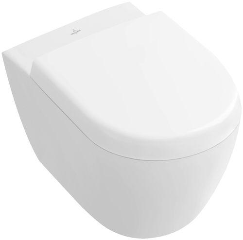 Inodoro suspendido / de porcelana / con cisterna empotrada SUBWAY 2.0 560610 Villeroy & Boch