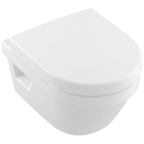 Inodoro suspendido / de cerámica / sin brida ARCHITECTURA: 4687R0 Villeroy & Boch