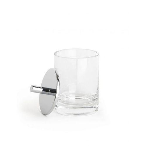 caja de almacenamiento de cristal / para cuarto de baño / con tapa