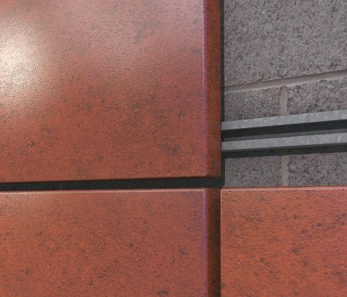 revestimiento de fachada de acero / pintado / impreso / prelacado