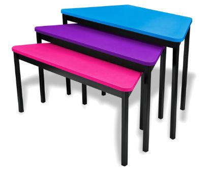 mesa moderna de material laminado para escuela para oficina mobiliario sa de cv