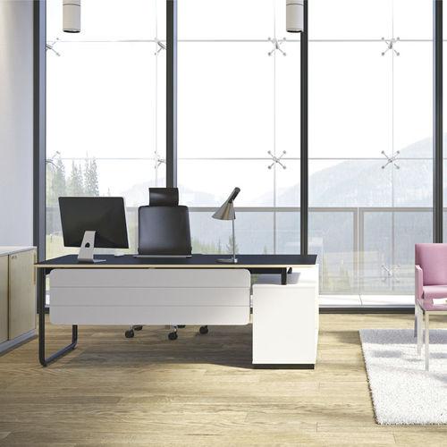 escritorio de director / de contrachapado / de material laminado / de melamina