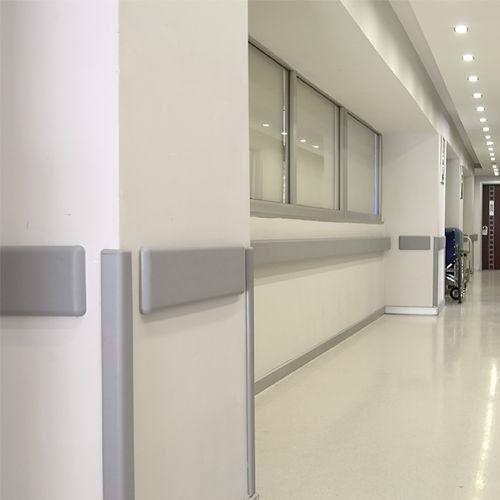 protección de pared de PVC / de esquina