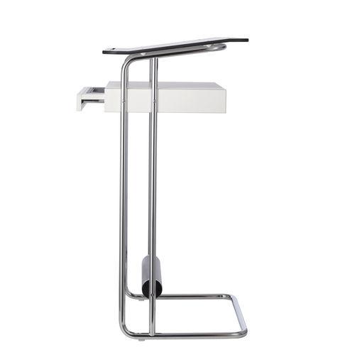 escritorio alto / de acero / moderno / profesional