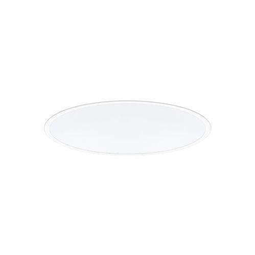 luminaria empotrable de techo / LED / redonda / de chapa de acero