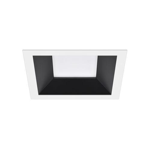 downlight empotrable / LED / cuadrado / de chapa de acero