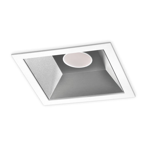 downlight empotrable / LED / cuadrado / de chapa de acero