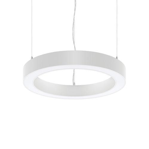 luminaria suspendida / LED / circular / de aluminio extruido