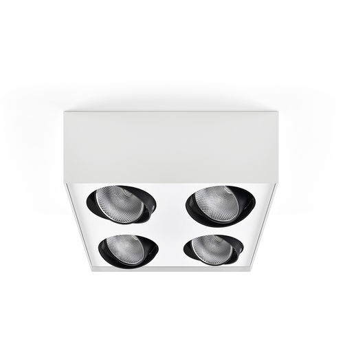 downlight montado en superficie / LED / cuadrado / rectangular