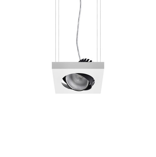 downlight suspendido / LED / cuadrado / rectangular