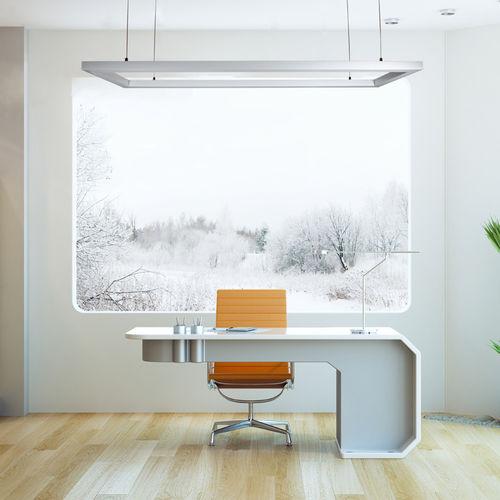 luminaria suspendida / LED / cuadrada / IP40