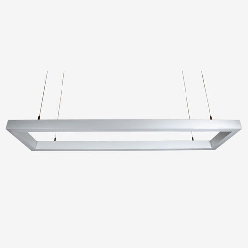 luminaria suspendida / LED / rectangular / IP40