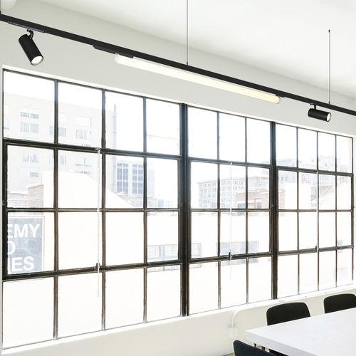 luminaria suspendida / LED / lineal / redonda