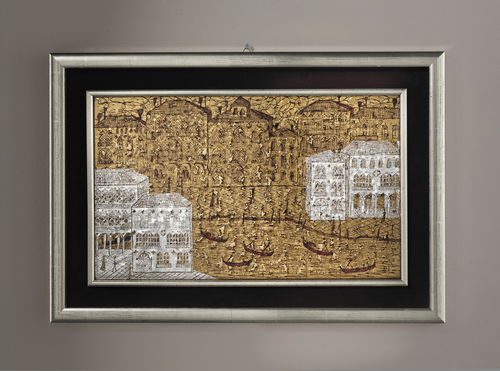 Panel decorativo de cristal de Murano / de pared / 3D VENEZIA 3D veveglass
