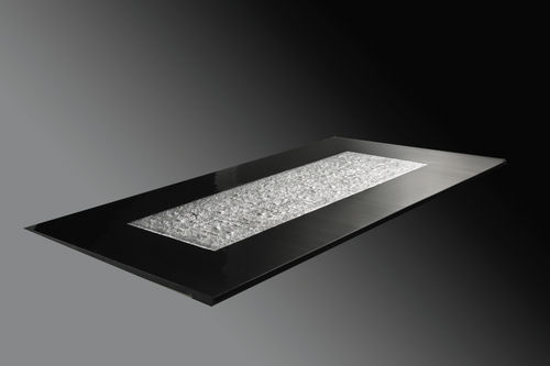tablero de mesa de cristal de Murano